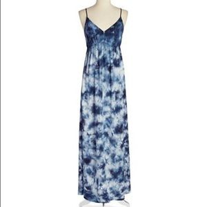 C&C California tie dye maxi dress